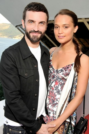 Nicolas Ghesquière and Alicia Vikander