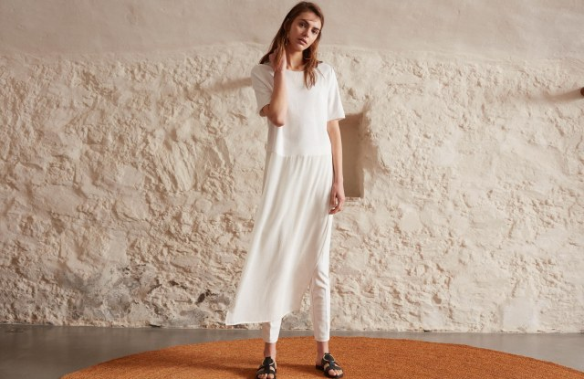 A look from Mango's special collection for Ramadan