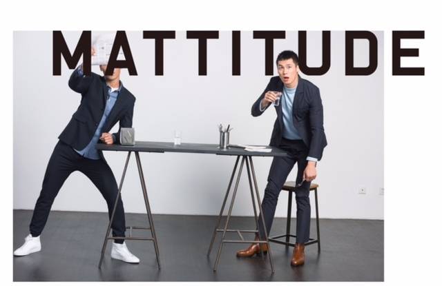 Masha Ma's new men's line is called Mattitude.