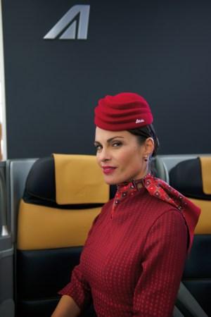 Alitalia's new uniforms