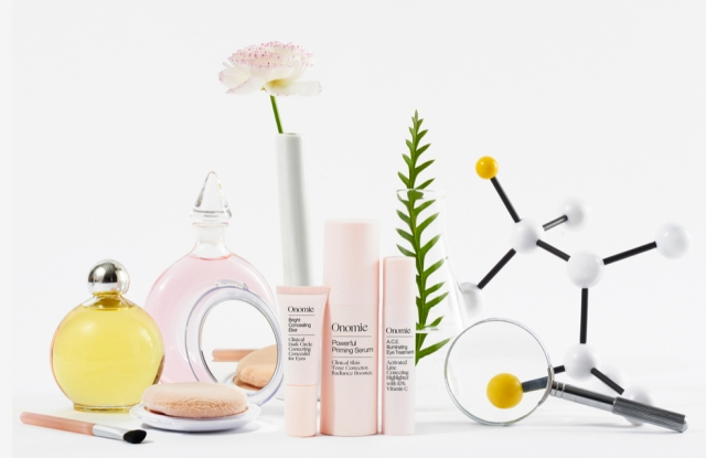 Onomie's products double as makeup items with the benefits of corrective skin care.