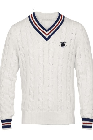 A sweater from Oxford University men's collection.
