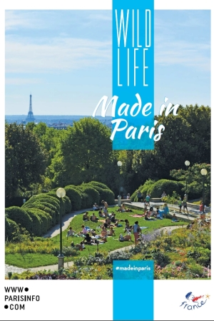 A visual of the promotional campaign to promote Paris