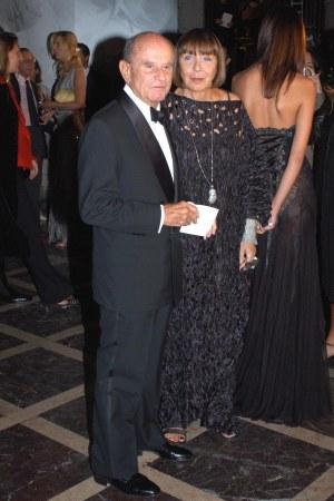 Aldo Pinto and Mariuccia Mandelli