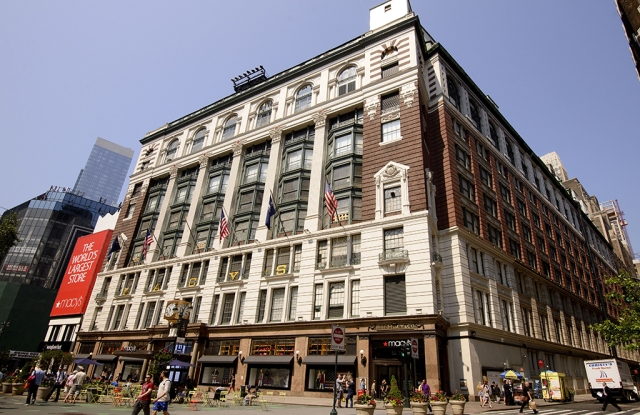 Macy's plans to open in the evening on Thanksgiving.