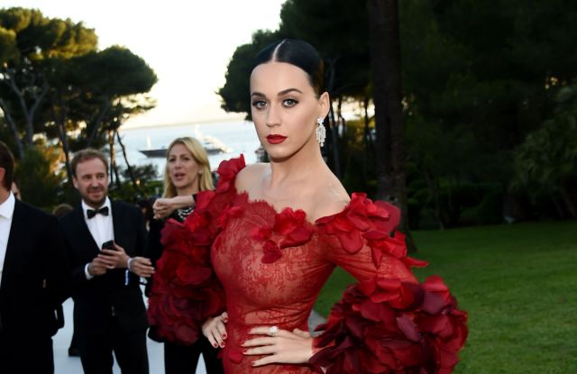 2016 cannes film festival amfar gala Katy Perry