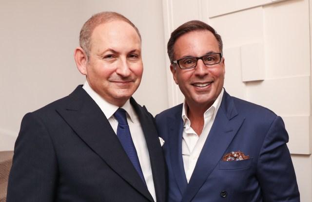 John Demsey and Harry Slatkin at celebration for Linda Wells, New York, America - 24 May 2016