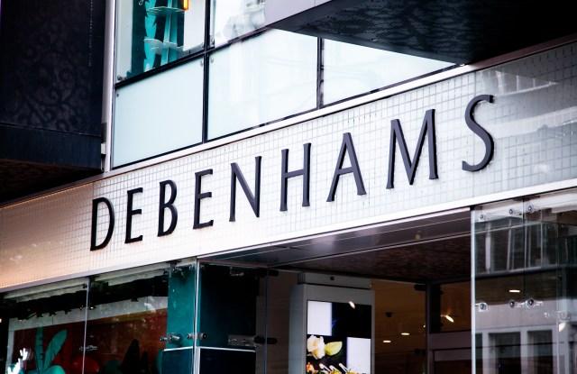 Debenhams store