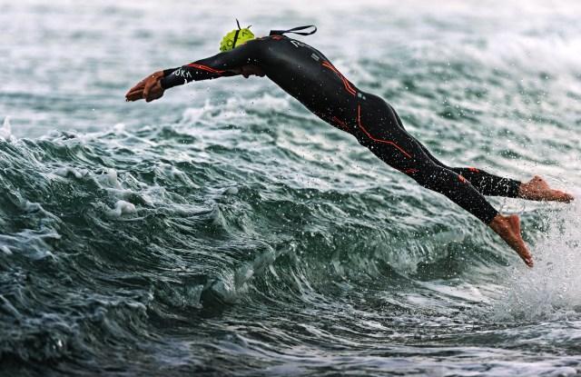 The Roka Maverick wetsuit