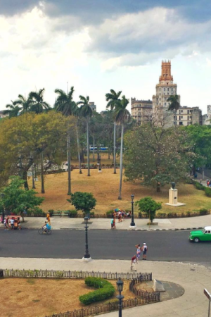 Gisele's photo of Cuba from her Instagram account.