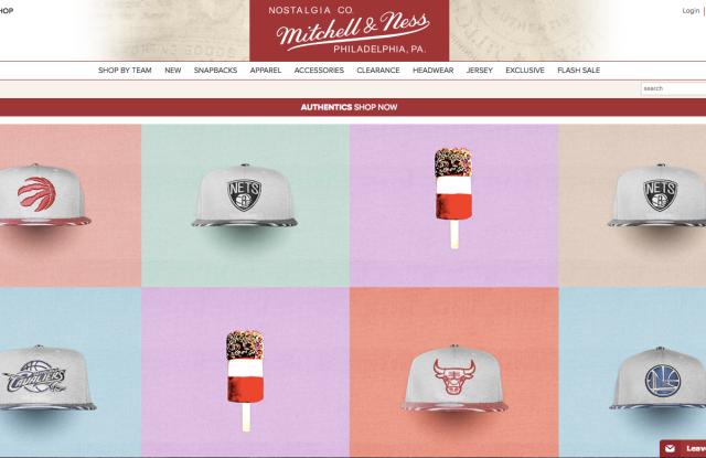Mitchell & Ness website.