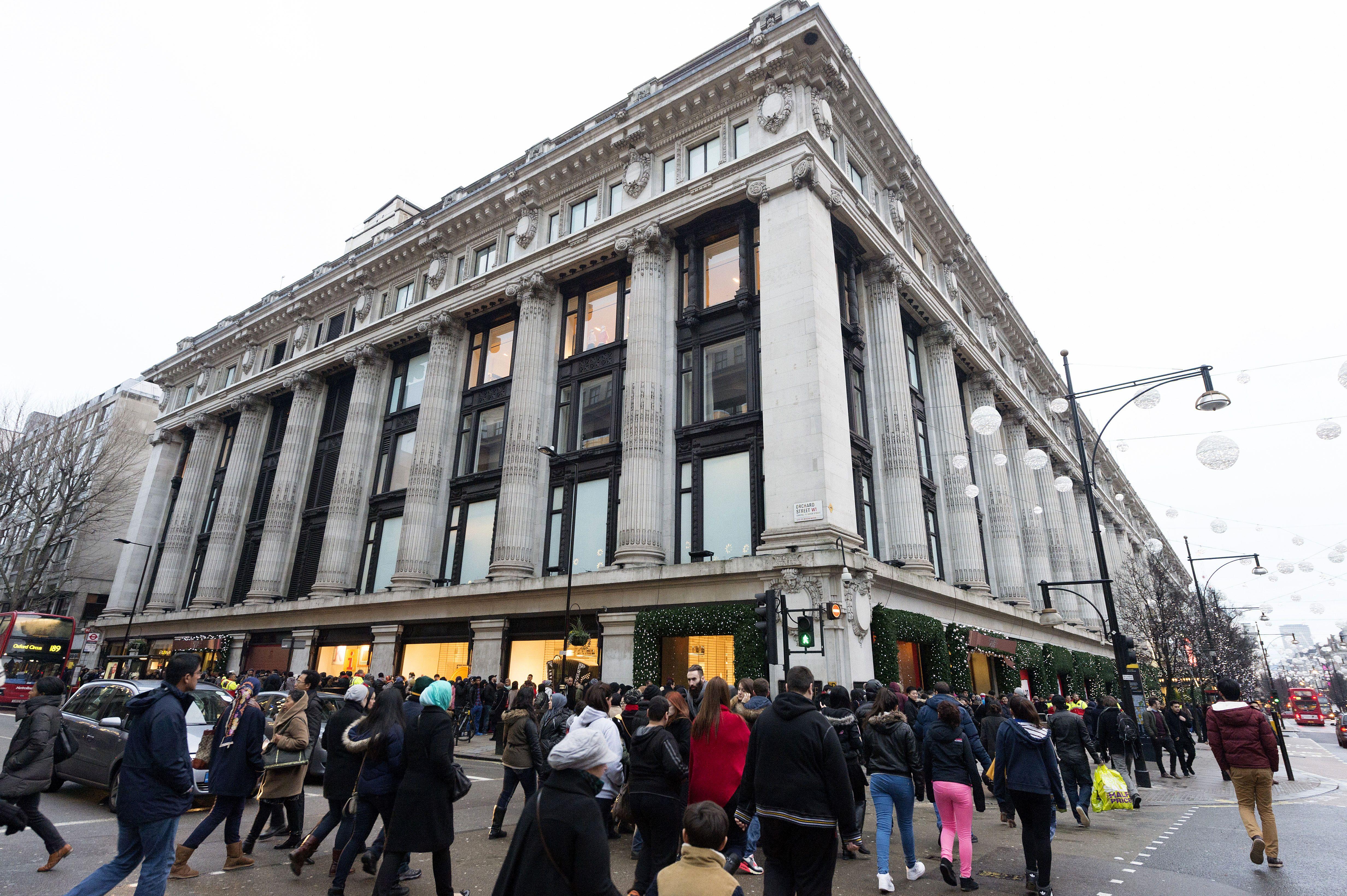 Selfridges Department Store