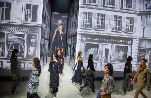"""Chanel reprised its """"Paris in Rome"""" show in Beijing."""