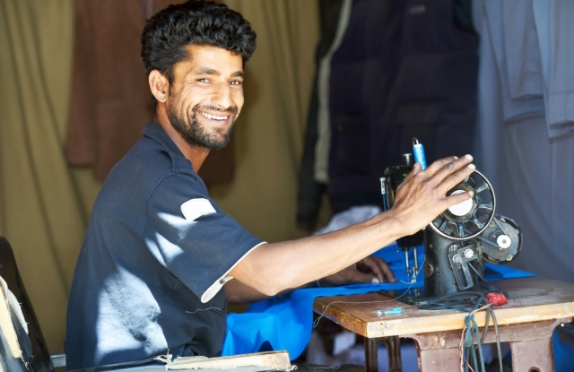 The growth in ecommerce is allowing smaller sized apparel firms in markets like India to sell directly to consumers worldwide.