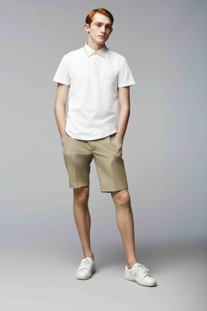 A Theory polo shirt for Uniqlo