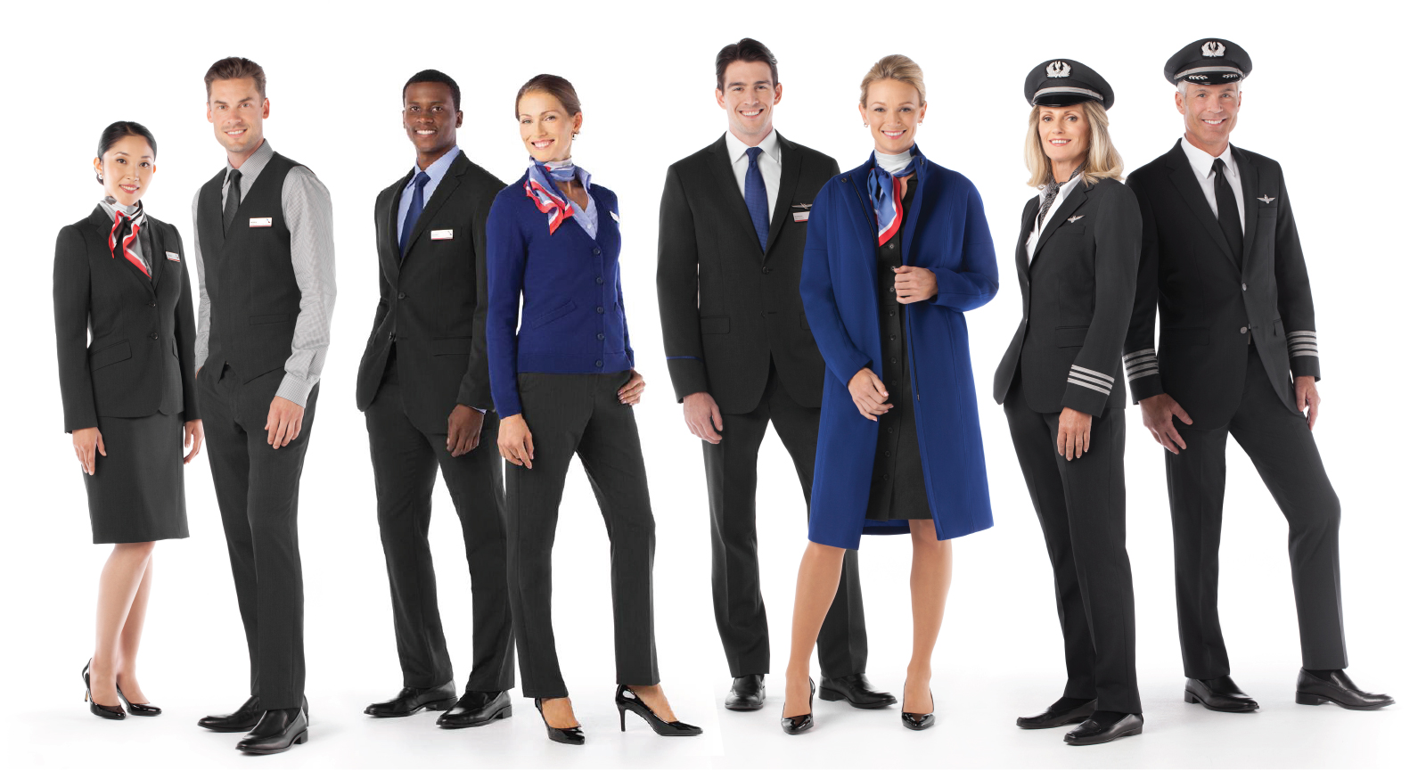The American Airlines uniforms by Twin Hill