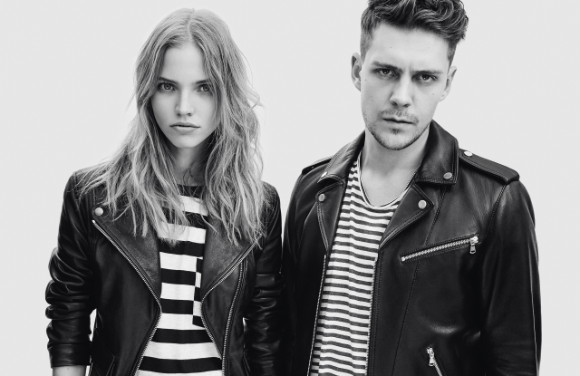 Looks from The Kooples.