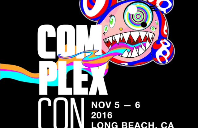Takashi Murakami's poster for ComplexCon.
