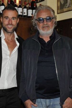 Philipp Plein and Flavio Briatore
