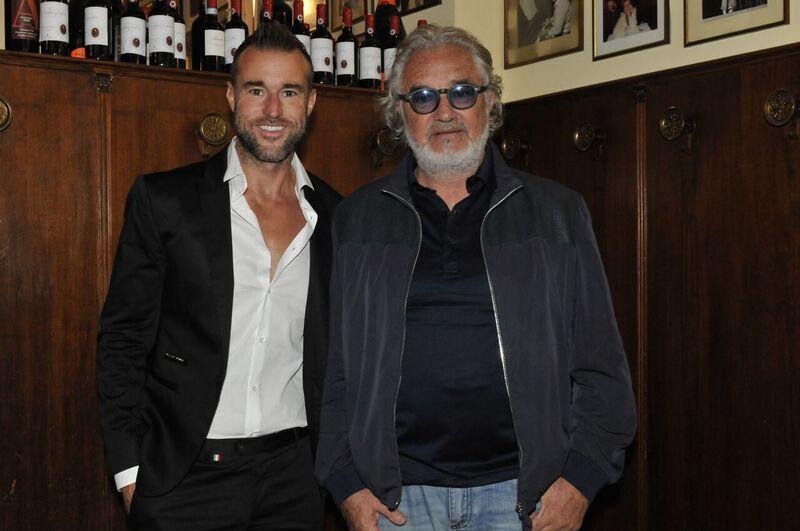 Philipp Plein and Flavio Briatore
