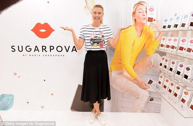 Sharapova T-shirt at Zara
