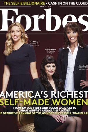 The Forbes cover of self-made women.