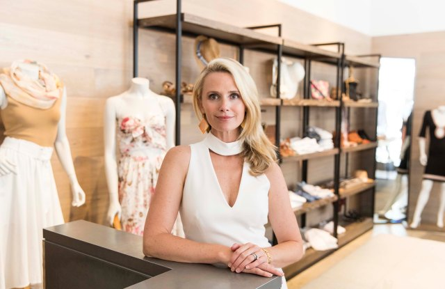 Jennifer Siebel Newsom hosted an event at Intermix to benefit The Representation Project.
