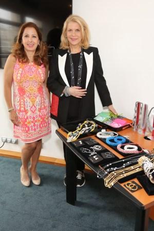 Karine Ohana and Francine LeFrak