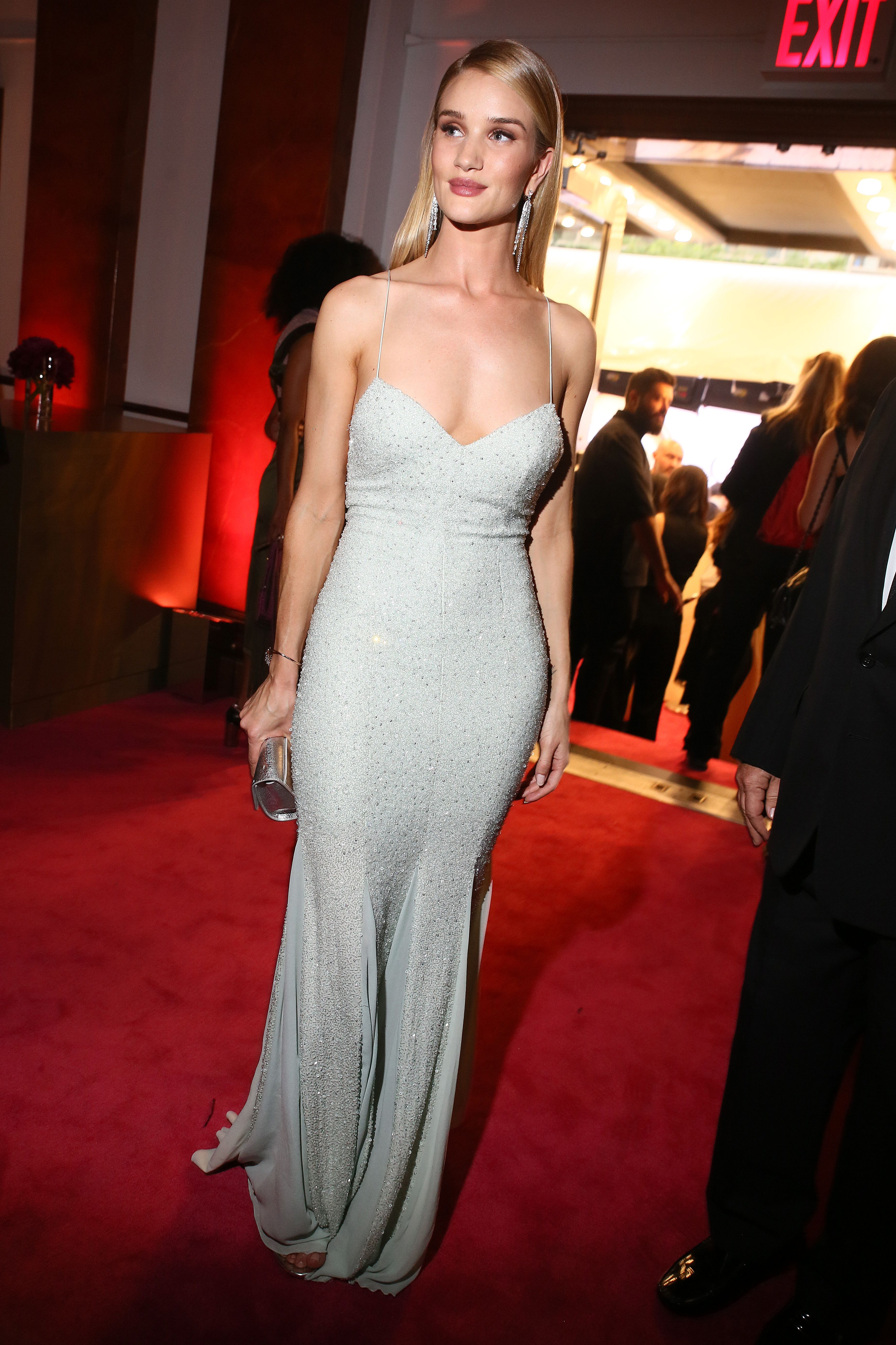 Rosie Huntington-Whitely in Michael Kors Collection 2016 CFDA Awards