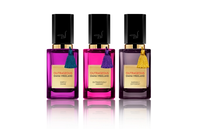 Diana Vreeland's Outrageous collection of parfum absolu.