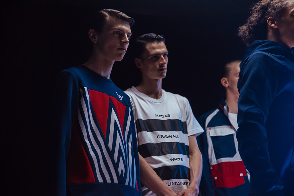Backstage at White Mountaineering Men's Spring 2017