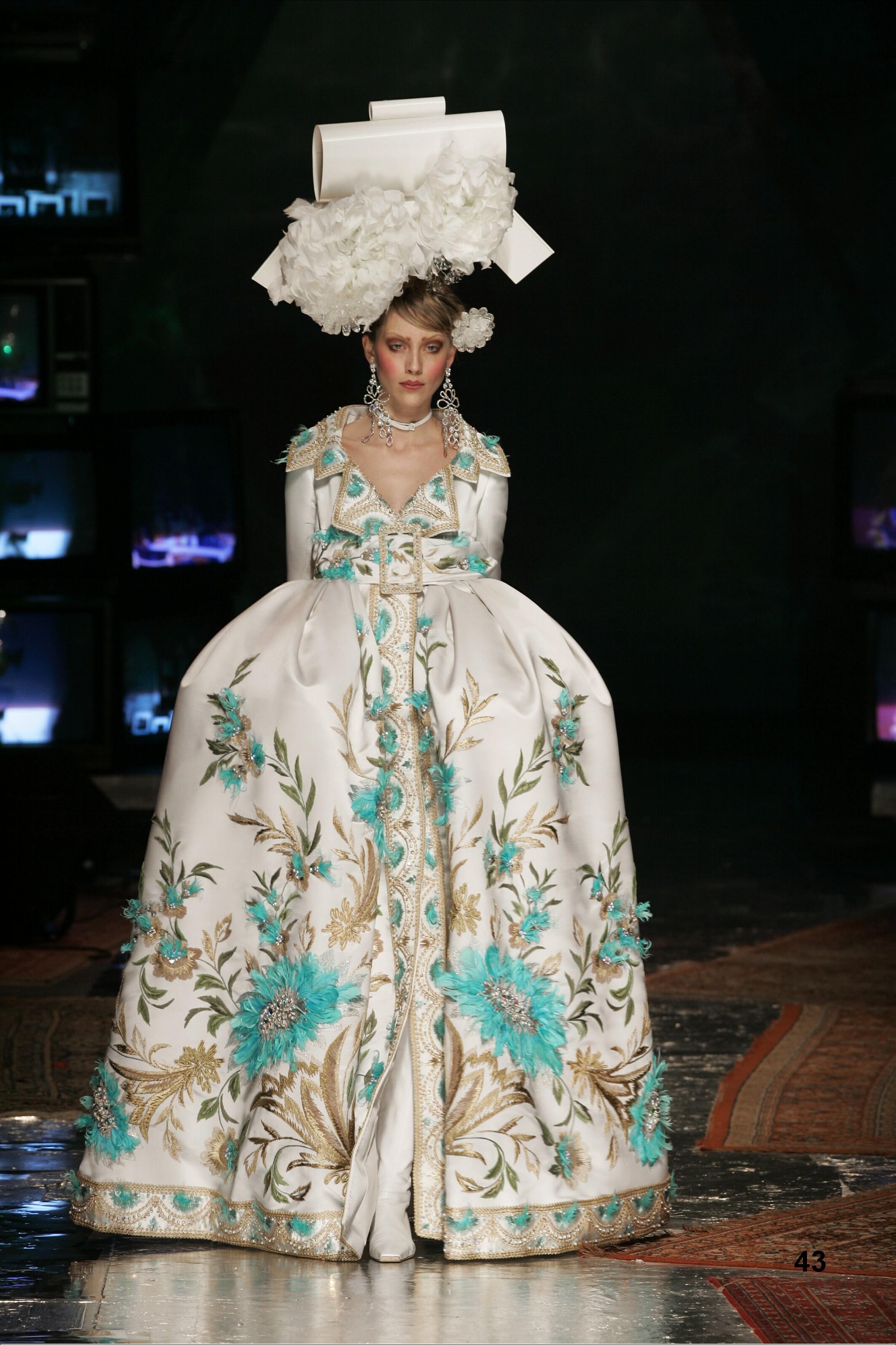 Barbican Mounts The Vulgar: Fashion Redefined Exhibit Dior by John Galliano