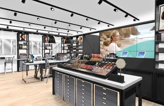A rendering of Bobbi Brown's store in Beverly Hills.
