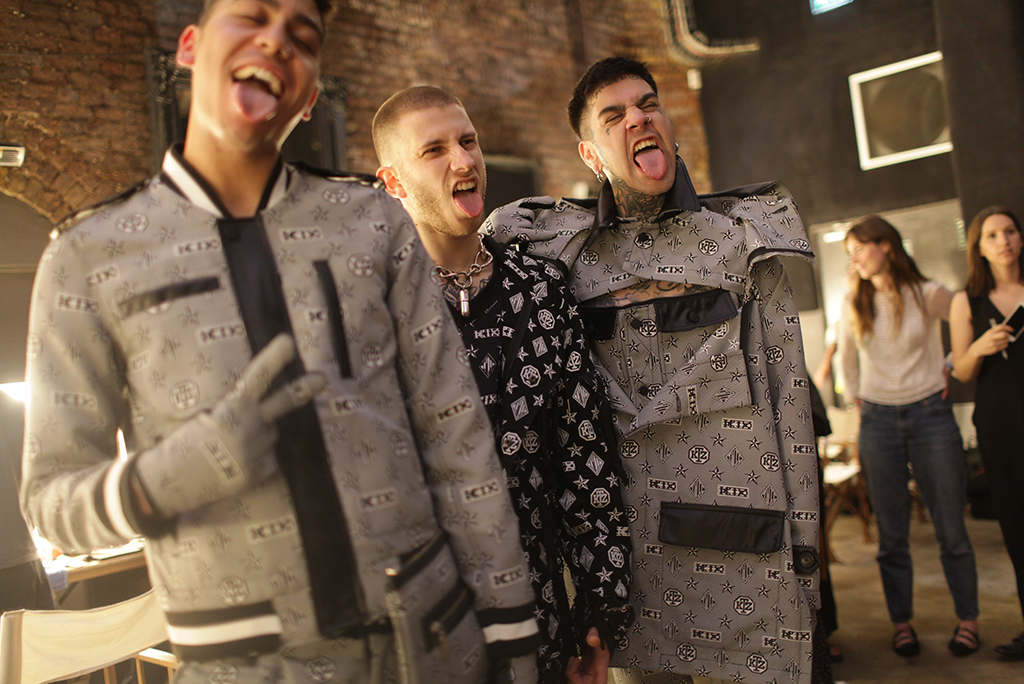 Backstage at KTZ Men's Spring 2017