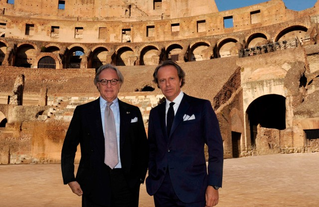 Behind the scenes of the Colosseum restoration.