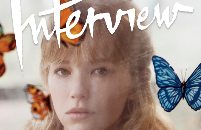Haley Bennett for Interview.