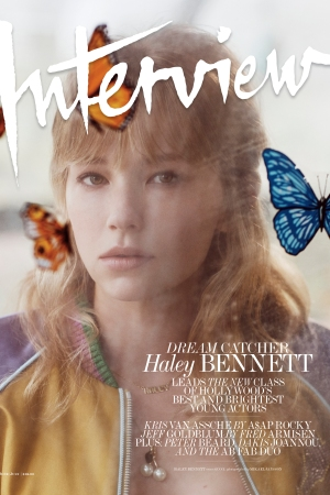 Haley Bennett for Interview.