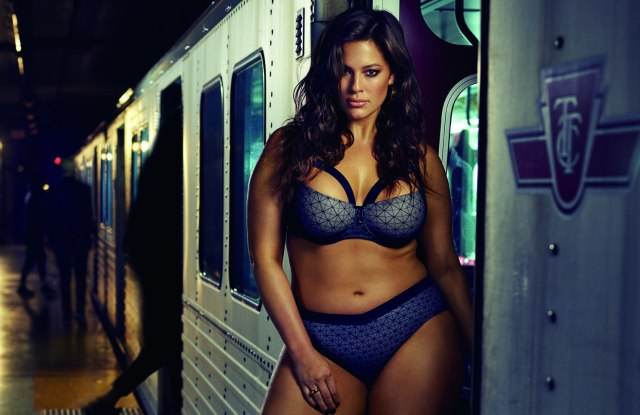 Ashley Graham in Provocative collection for Addition Elle.
