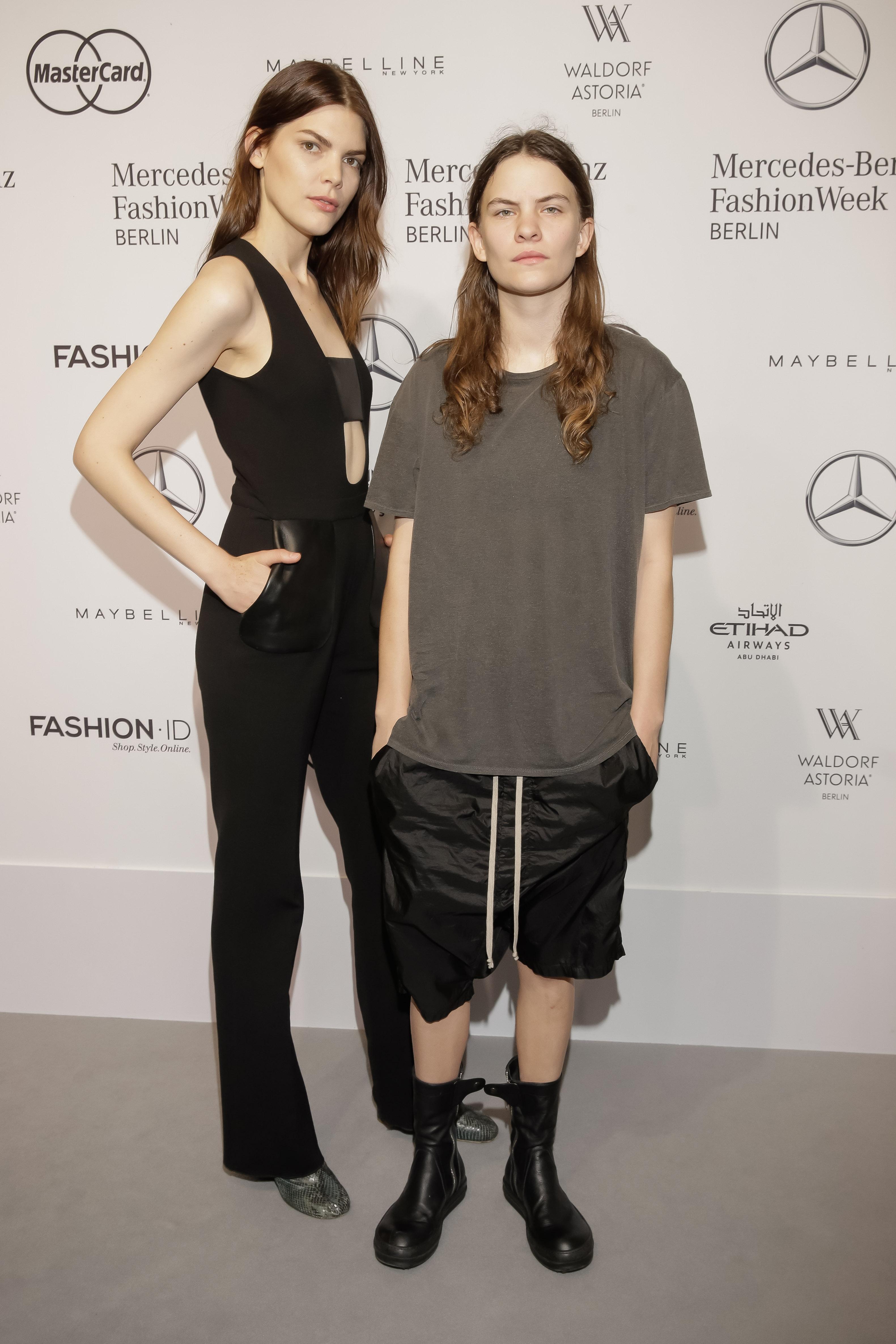 Singer Eliot Sumner and girlfriend Lucie von Alten star in the Mercedes Benz SS17 Berlin Fashion Week campaign