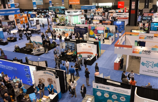 IRCE exhibition hall, 2015.