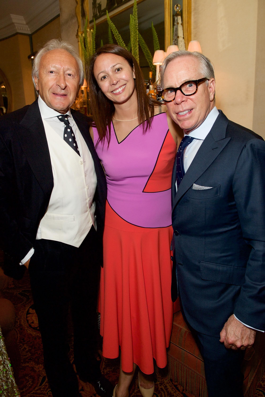 Harold Tillman, Caroline Rush and Tommy Hilfiger