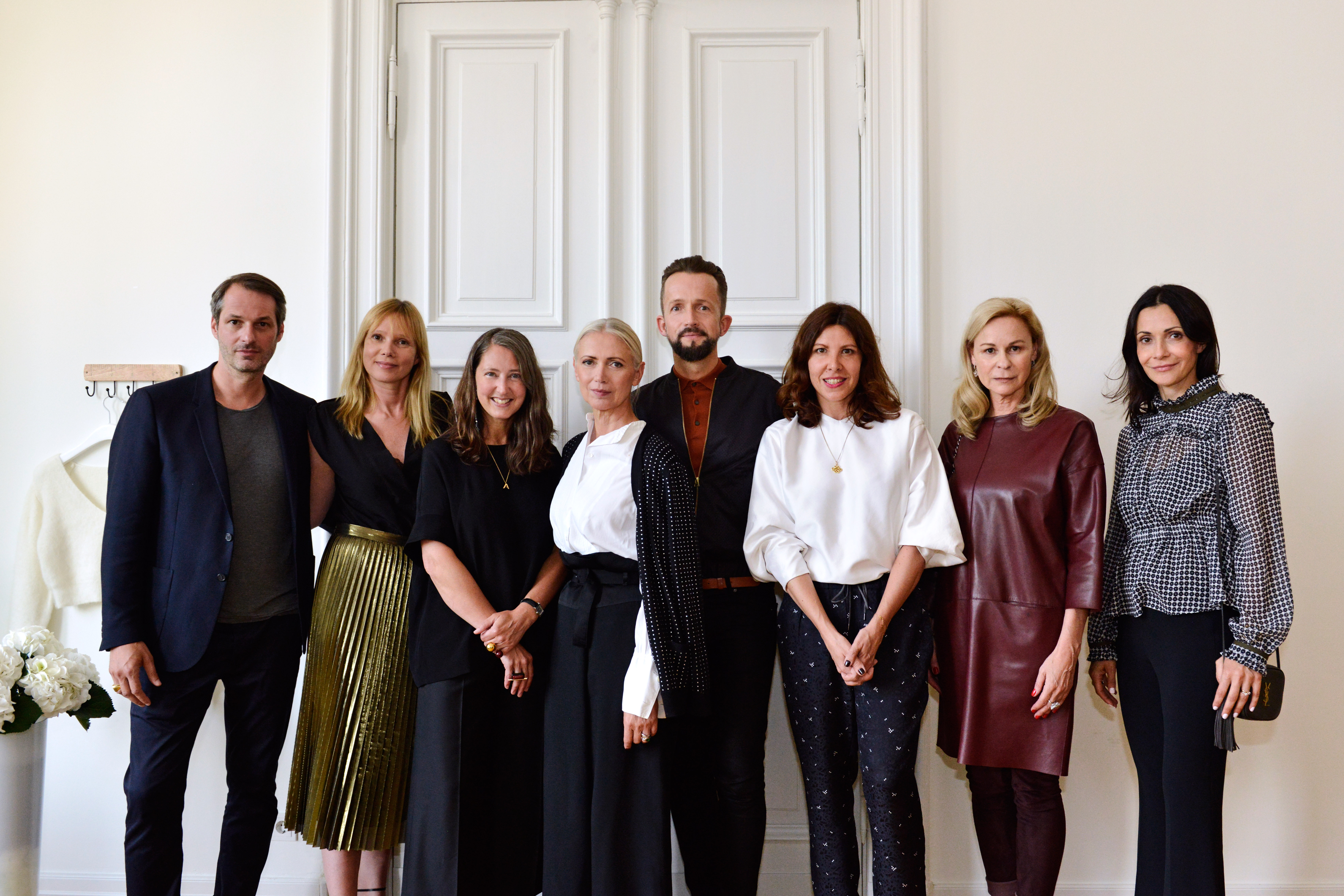 The Fashion Council Germany and H&M's Ann Sofie Johannson and Thorsten Mindermann