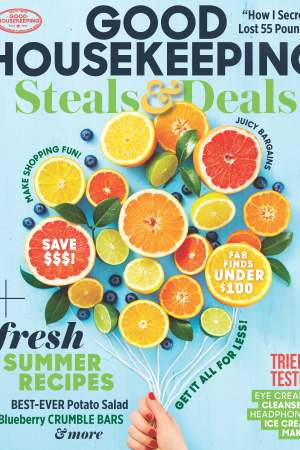 Good Housekeeping's  July cover.