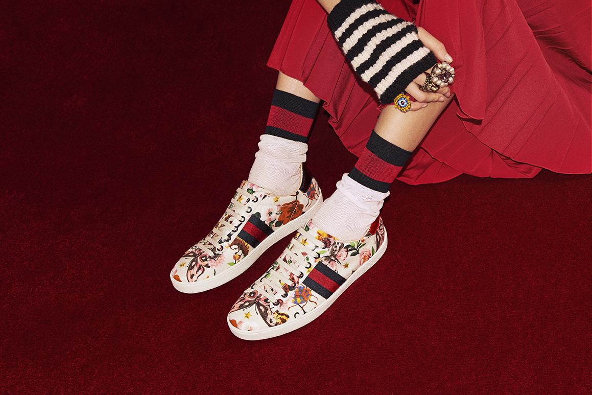 Gucci Launches #24HourAce – WWD