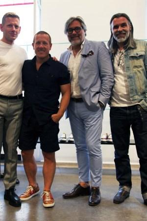 Paul Andrew, Scott Schuman, Anton Magnani, Frank Charriaut