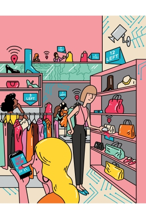 """""""Technology adds an additional excitement and convenience to shopping experiences."""" Michael Klein, Adobe"""