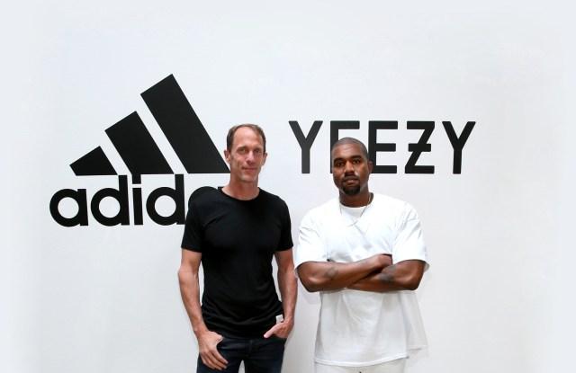 Eric Liedtke and Kanye West