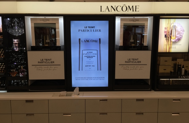 Lancome Le Teint Particulier is one of several projects spearheaded by L'Oreal's Technology Incubator.