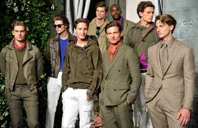 Ralph Lauren Purple Label for spring 2017