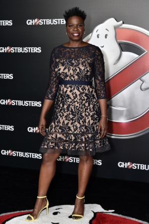 Leslie Jones stepped out at CinemaCon in April, 2016.